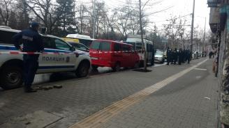 Полицейски екшън в центъра на София