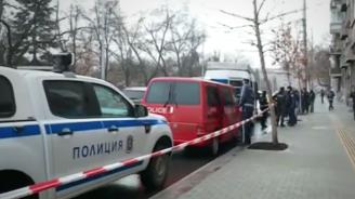 Екшън в центъра на София, има арестувани и ранен полицай