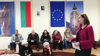 Евгения Ангелова проведе първата среща от кампанията за превенция на ало-измамите