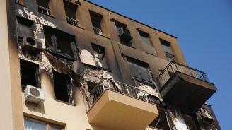 Пожар унищожи цял етаж от кооперация във Варна, загина старец
