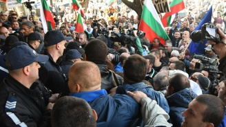 Протест затвори главния път Е-79 край село Джерман