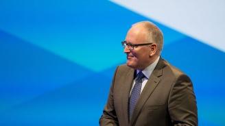 Франс Тимерманс е кандидатът за председател на ЕК е ПЕС