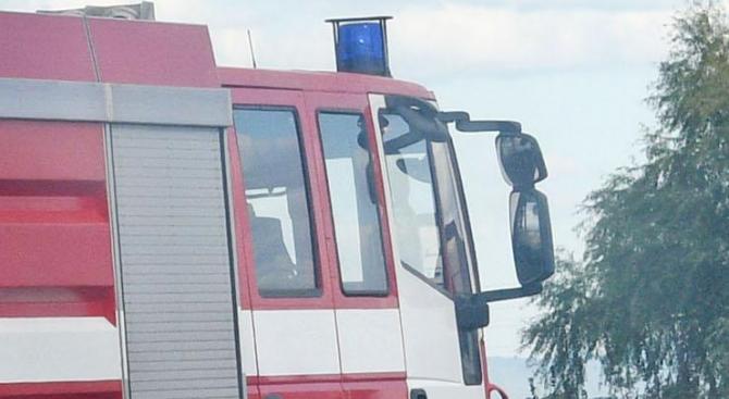 """МВР: Задимяване при АМ """"Тракия"""" в посока София заради пожар"""