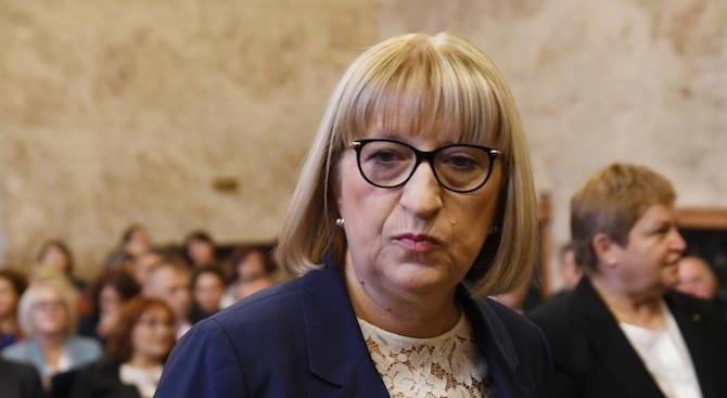 """Министърът на правосъдието Цецка Цачева откри официално """"Синя стая"""" за"""