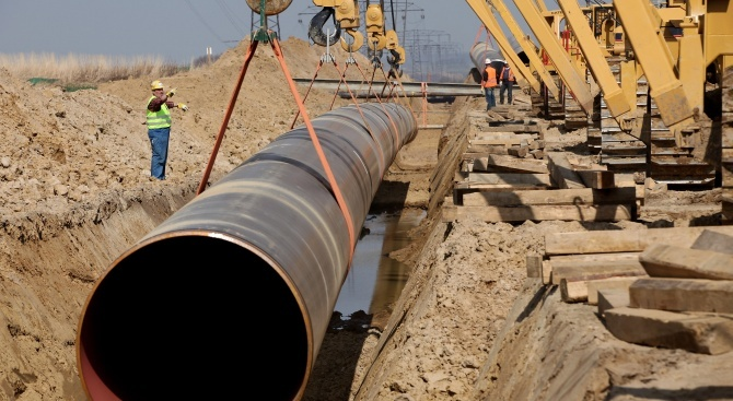 """""""Булгартрансгаз"""" обяви в четвъртък, че е подновен търгът за строежа"""