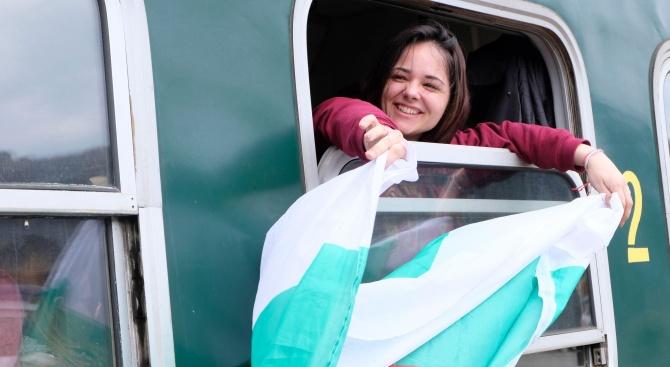За четвърта поредна година в Якоруда пристигна теснолинейката - влак