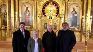 """Наградиха Вежди Рашидов с почетния знак """"Св. Стефан"""" в Екзархията в Истанбул"""