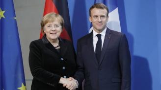 Макрон и Меркел са склонни да отпуснат повече време на британците  за Брекзит