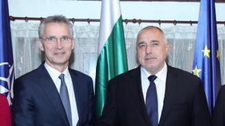 Генералният секретар на НАТО на посещение в София