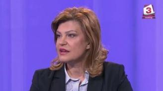 Ирена Соколова: Когато БСП се изкажат, 50 нюанса наглост са малко