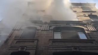 Четирима души загинаха при пожар в Истанбул