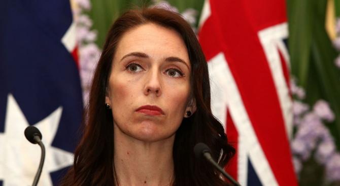Министър-председателката на Нова Зеландия Джасинда Ардърн предупреди днес пленен в