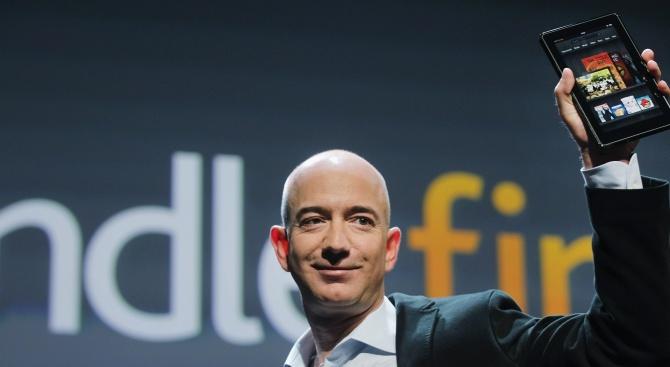 Джеф Безос остава най-богатият мъж на света