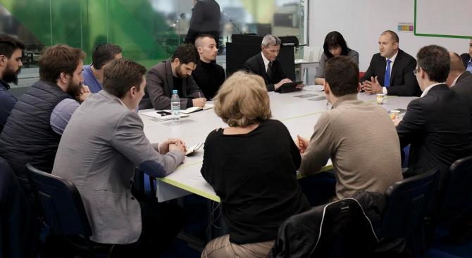 Насърчаването на дейността на новостартиращите компании в сферата на високите