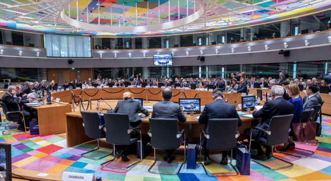 """Младен Маринов участва на заседание на Съвета """"Правосъдие и вътрешни работи"""" в Брюксел"""