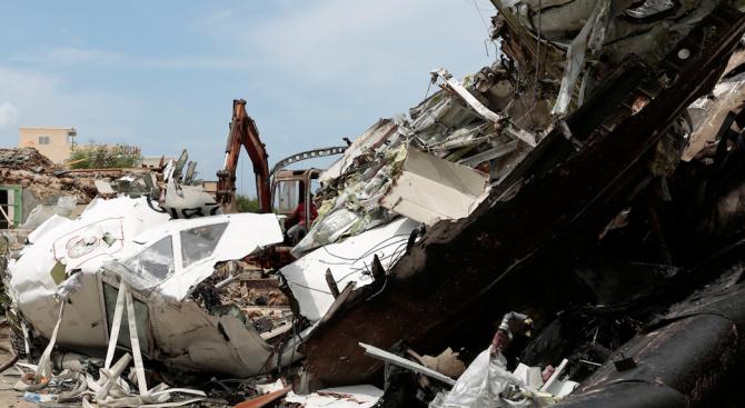 Етиопски самолет се разби на път за кенийската столица Найроби, на борда е имало 149 пътници и 8 души екипаж