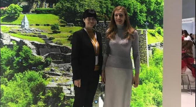 Министърът на туризма Николина Ангелкова се срещна с изпълнителния директор