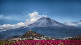 Вулканът Попокатепетъл изригна с мощна експлозия
