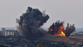 Израелски изтребители удариха военен обект на Хамас в ивицата Газа