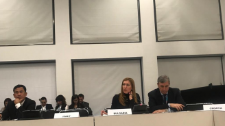"""Ангелкова участва в Берлин в деветата министерска среща по проекта """"По пътя на коприната"""""""
