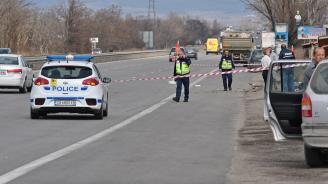 Тежък пътен инцидент на Околовръстния път на столицата