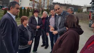 Цветанов разгледа различни проекти с държавно финансиране в гр. Елена