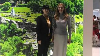 Ангелкова се срещна с изпълнителния директор на Асоциацията на туроператорите в Русия