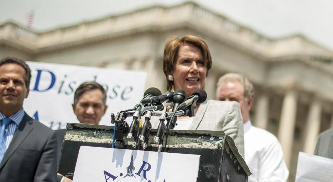 Снимка: Председателят на Камарата на представителите на САЩ: Не съм за импийчмънт