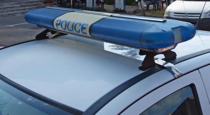 Полицаи арестуваха дрогиран грък