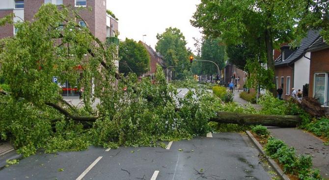 Петима души пострадаха вследствие на торнадо в Западна Германия