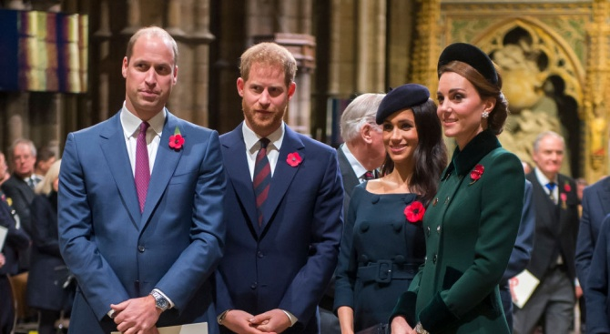 Хари и Меган се местят отделно от Уилям и Кейт