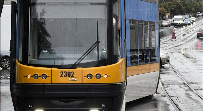 Ремонт променя временно движението на трамвайна линия № 8