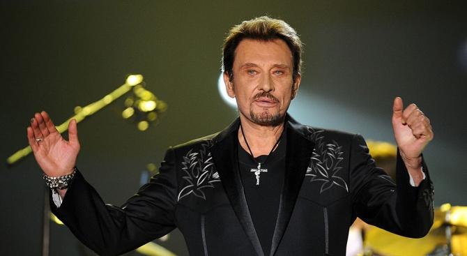 Дават на търг кола на покойната звезда на френския рок Джони Холидей