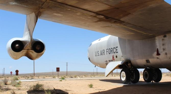 US  бомбардировач е прелетял край руски териториални води