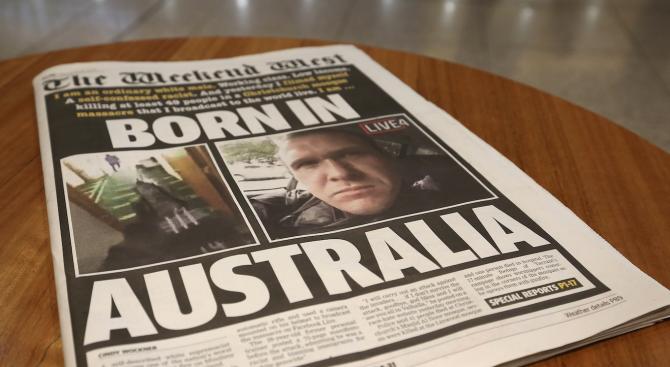 Нападателят в новозеландските джамии влезе в съда