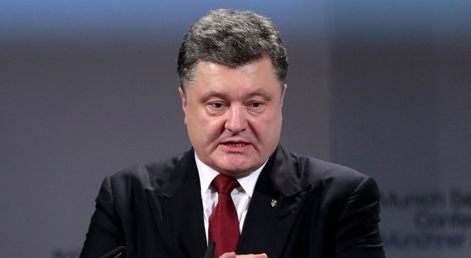 Десет души бяха арестувани днес в източния украински град Полтава,