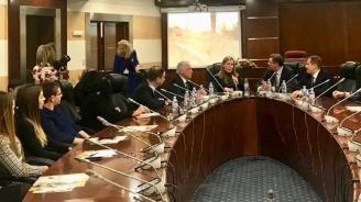 Ангелкова изнесе лекция в Московския държавен институт за международни отношения (МГИМО)
