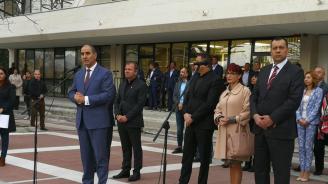 Цветанов: Стабилното управление на премиера Борисов осигурява европейски средства за развитието на българските общини