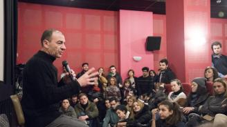 Димитър Маринов в НАТФИЗ: Всеки един от вас може да застане на моето място