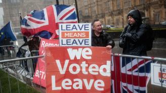 Британският парламент отхвърли за втори път сделката за Брекзит на Мей