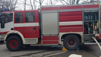 Възрастна русенка пострада леко при пожар в дома си