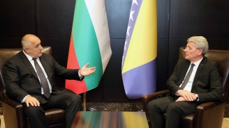 Бойко Борисов проведе среща с Шефик Джаферович