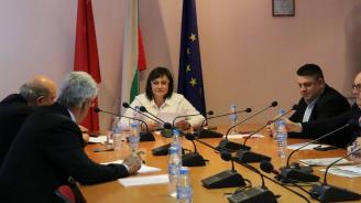 """Нинова събра политическия съвет на коалиция """"БСП за България"""""""
