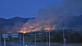 Голям пожар гори край Световрачане