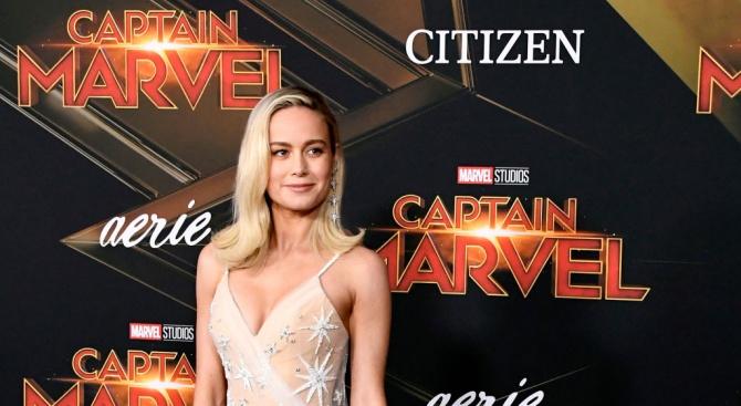 """""""Капитан Марвел"""" - първият филм от вселената на Марвел, в"""