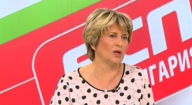 Зам. - председателят на ПГ на БСП Весела Лечева коментира