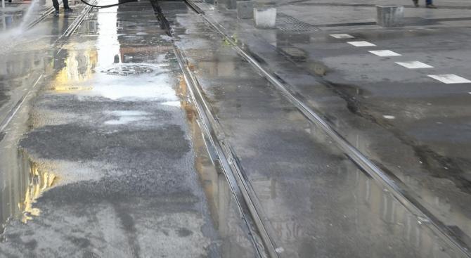 """Във връзка с ремонтни дейности на ул. """"Каменоделска"""" се въвежда"""