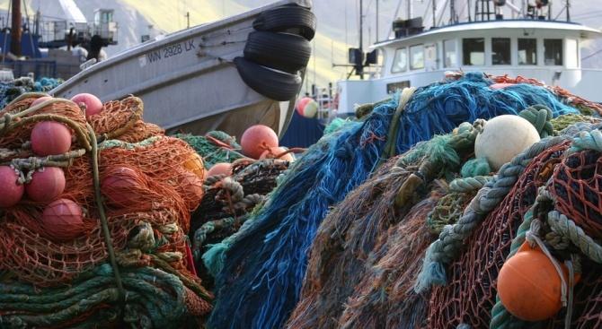"""150 килограма риба е извадена от бракониерски мрежи в язовир """"Ястребино"""""""