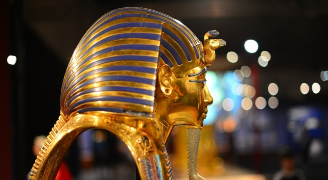 Изложба със съкровища от гробницата на Тутанкамон, която се открива