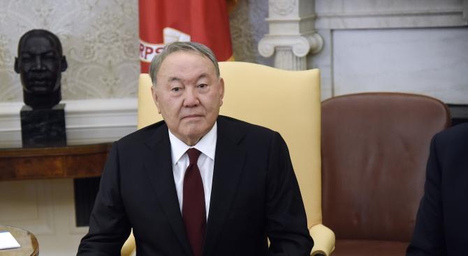 Казахстанският президент Нурсултан Назърбаев заяви за подадена оставка, предаде РИА